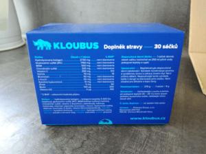 Kloubní výživa KLOUBUS - doplněk stravy