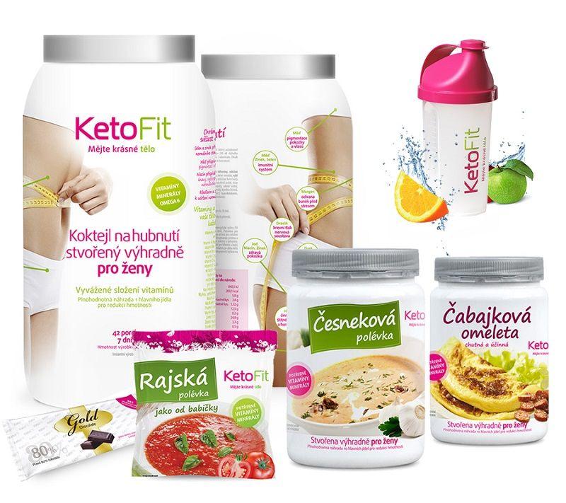 Redukční dieta KetoFit - na 2 týdny