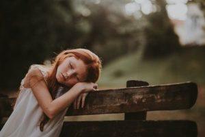 vyčerpání organismu - dítě