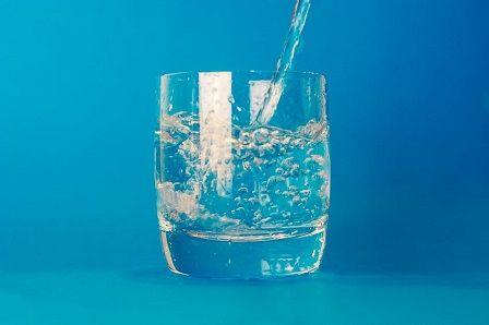 vyčerpání organismu - voda