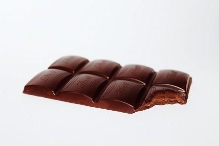 Dietní jídla - tabulka čokolády