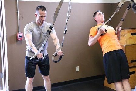 TRX cviky - cvičení doma
