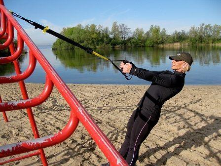 TRX cviky - cvičení