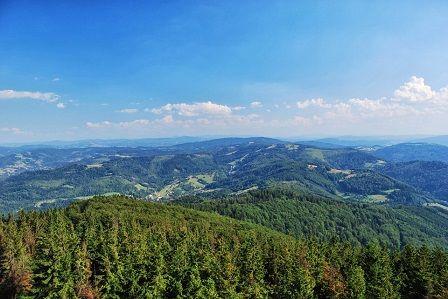 Lysá Hora - panorama