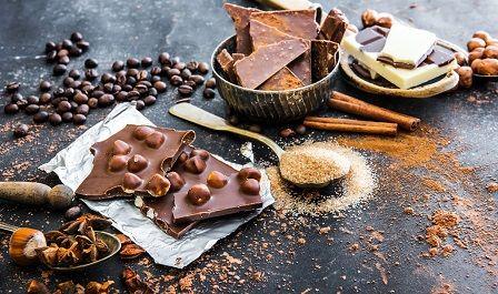 Sacharidy v potravinách - cukry v čokoládě