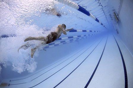 Plavání - nárůst energie