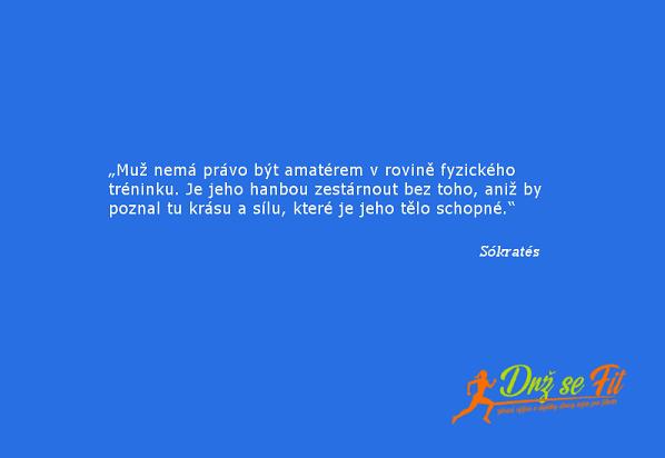 Citát Sokratés - drzsefit.cz