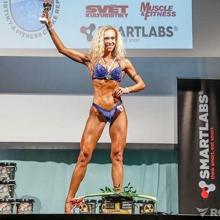 Bikini Fitness - Jana vítěz