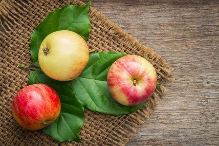 Vláknina v potravinách - jablko