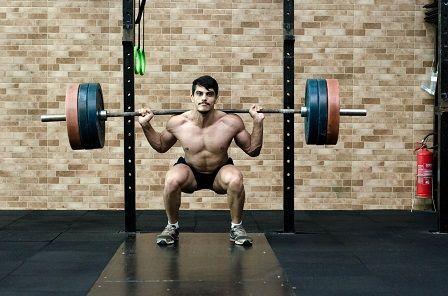 Velké svaly - silový dřep