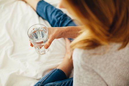 Nedostatek vody - dehydratace