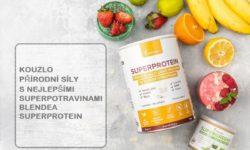 Kouzlo přírodní síly s nejlepšími superpotravinami Blendea SUPERPROTEIN