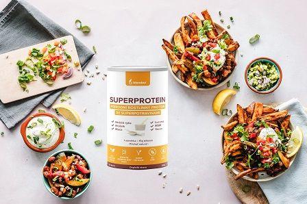 Rostlinný protein Blendea SUPERPROTEIN