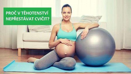 Sport v těhotenství