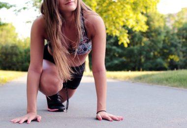 Cvičení venku v parku