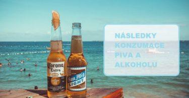 Konzumace piva na pláži