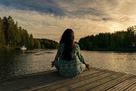 Špatný spánek - meditace v přírodě