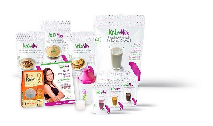 Redukční dieta KetoMIX