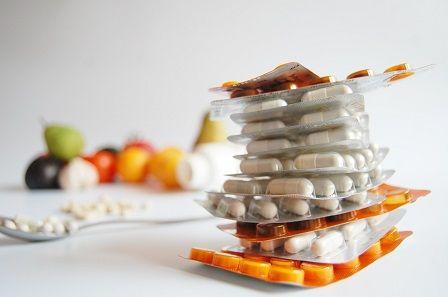 Nedostatek zinku - balení doplňků stravy