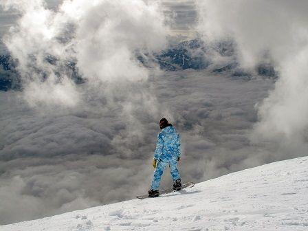 Sport během Vánoc - snowboarding