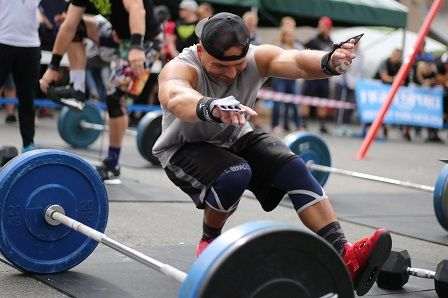 CrossFit závody Třinec - Zdeněk Donator