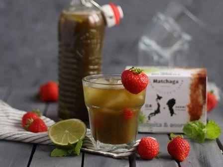 Ledový čaj Matchaga