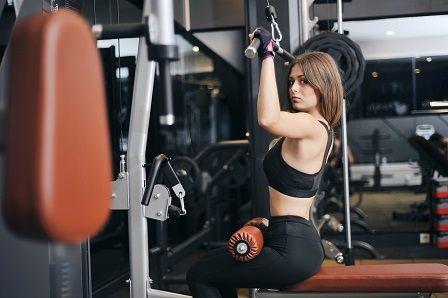 Závislost na cvičení - ženy