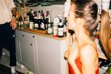 alkohol, party